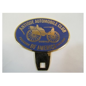 Enamel Car Badge