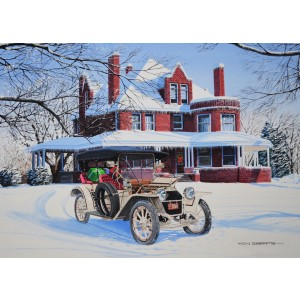 """2018 Christmas Cards - """"Christmas 1912"""""""