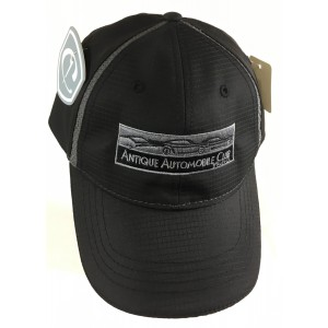 Polyester Cap with Textured Mesh Inserts