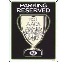 AACA Parking Sign